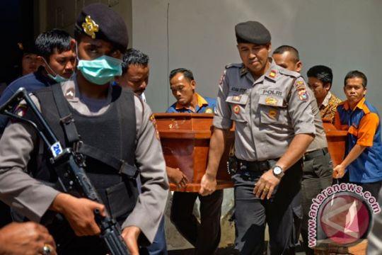 Dua jenazah terduga teroris Bima dipulangkan