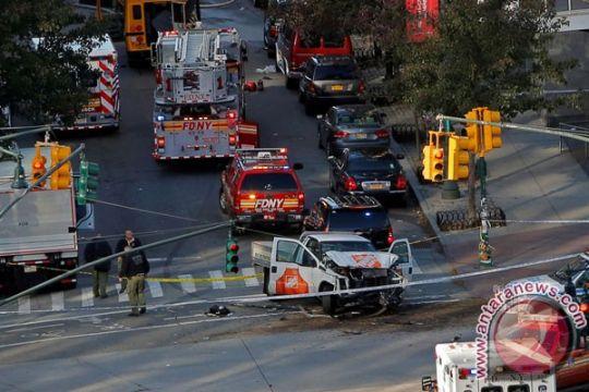 Sejumlah orang tewas ditabrak di jalur sepeda kota New York