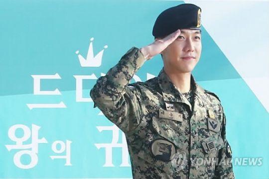 Lee Seung-gi rampungkan wajib militer