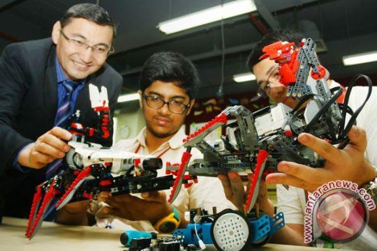 Siswa MAN 1 Pekanbaru juara Kompetisi Robot Madrasah nasional
