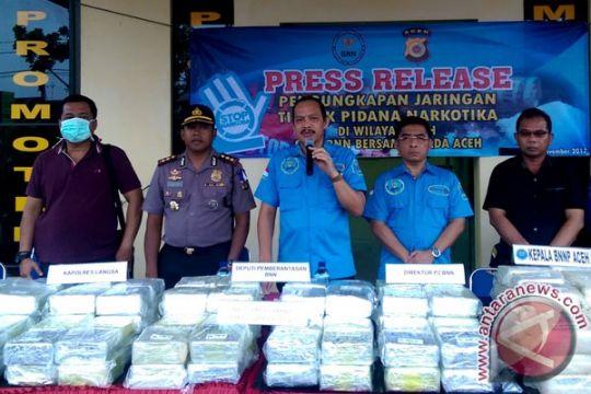 BNN sita 212,483 kilogram sabu di Aceh