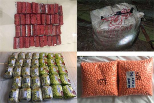 BNN sita 212,5 kg sabu-sabu dan ribuan ekstasi di Aceh