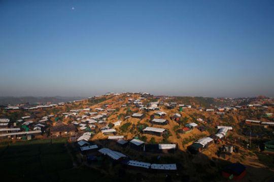 Para Menlu Asia-Eropa kunjungi Rohingya di Bangladesh