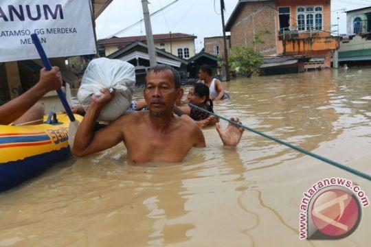 230 rumah di Serdang Bedagai tergenang banjir
