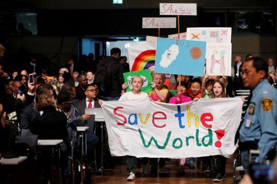 Masyarakat adat dunia perjuangkan pengakuan di COP-23