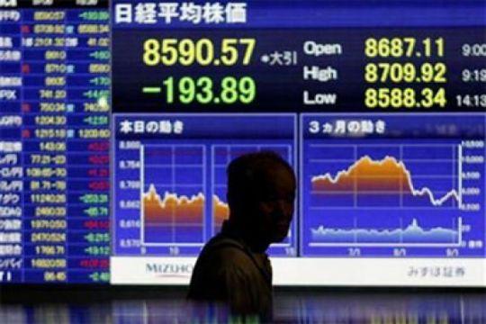 Krisis Turki, pasar saham Asia dan euro tertekan