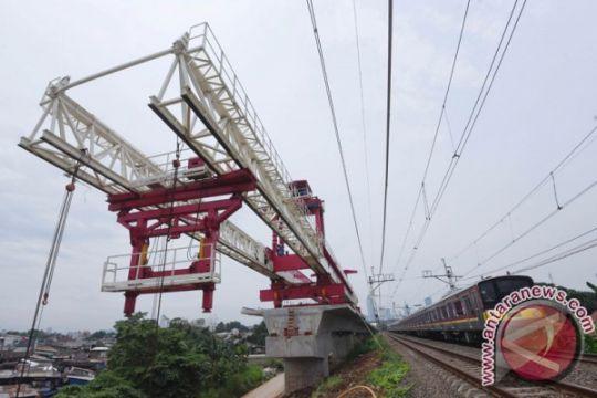 Jalur dwi-ganda Manggarai-Cikarang dua tahun lagi beroperasi