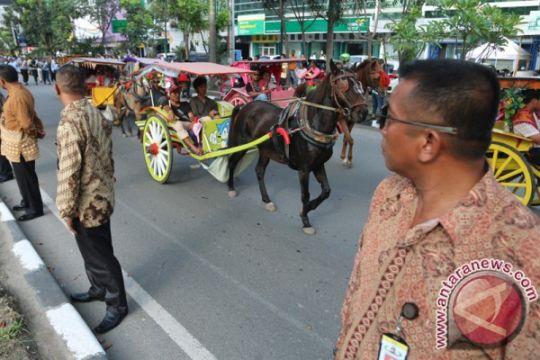 Polisi siapkan pengurai macet selama resepsi pernikahan Kahiyang di Medan