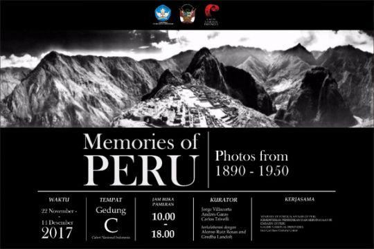Pameran foto Peru hadir di Galeri Nasional Indonesia