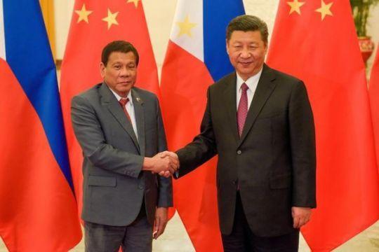 Duterte: Xi tawarkan perjanjian gas jika kasus arbitrase diabaikan