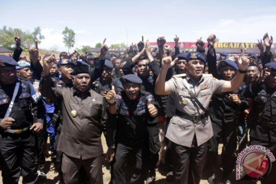 Perayaan HUT Brimob Papua Barat