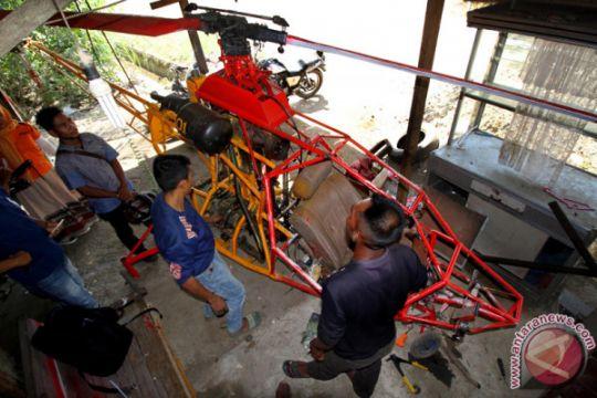 Inovasi Helikopter Mesin Mobil