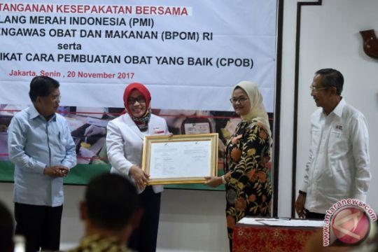 Kerjasama PMI Dan BPOM
