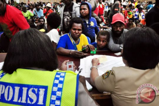 320 anak Nduga mengungsi ke Jayawijaya akibat kontak senjata