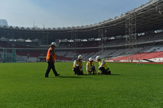 Stadion Utama GBK siap gelar laga Indonesia vs Islandia