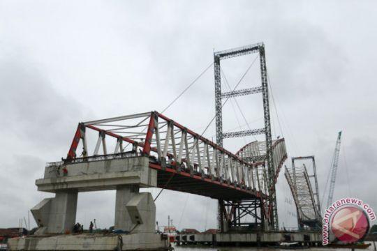 Progres Pembangunan Jembatan Musi VI
