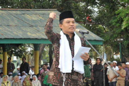 Apel Kebangsaan Santri meriahkan Sosialisasi Empat Pilar di Bangkinang Riau