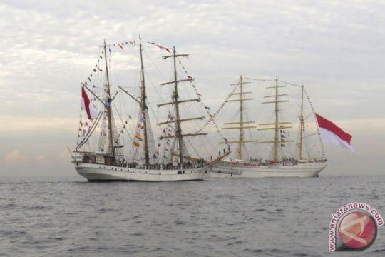 KRI Dewaruci bergabung untuk Sail Sabang 2017