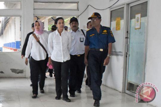 Menteri BUMN Tinjau Penyeberangan Ferry
