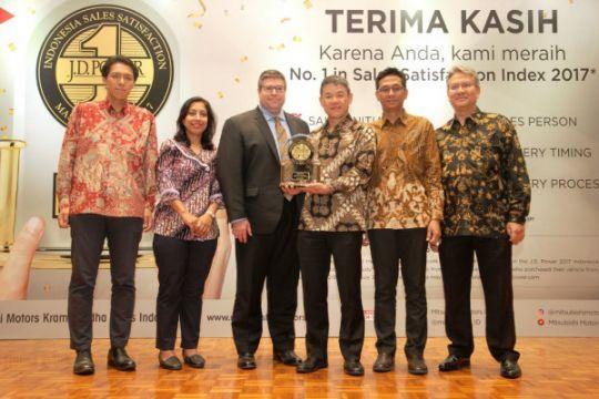 Mitsubishi raih peringkat tertinggi kepuasan layanan penjualan di Indonesia