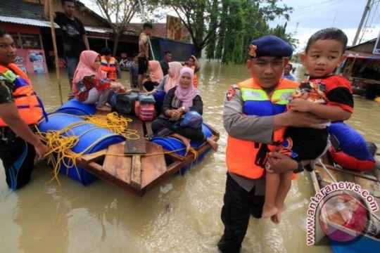 Korban banjir Aceh Utara buka dapur umum