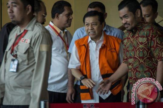 KPK limpahkan berkas Setya Novanto ke pengadilan