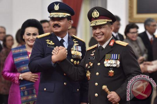 Panglima ingin TNI-Polri terus solid