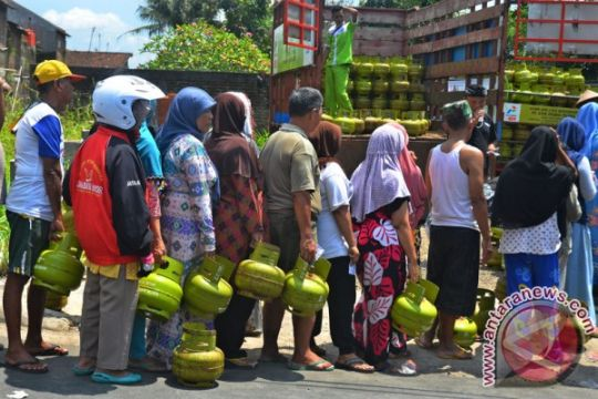 Gas tiga kg di Kendari menghilang