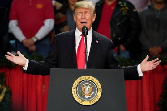 Trump sindir pendahulunya soal Yerusalem
