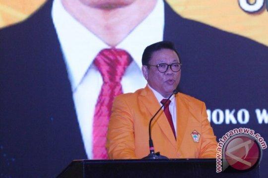 Agung Laksono minta seluruh pihak menahan diri soal Soeharto