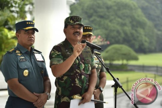 Panglima anulir mutasi sejumlah perwira tinggi TNI