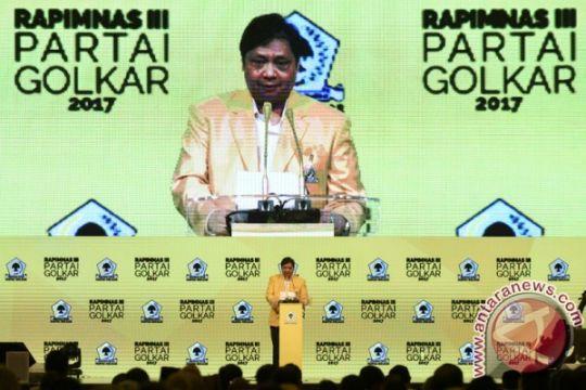 Airlangga buka Rapimnas Partai Golkar