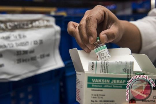 Kemenkes: 170 kabupaten-kota sudah lakukan imunisasi ulang  difteri
