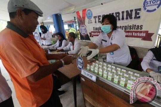 Lima sopir bus di Sumut terindikasi gunakan narkoba