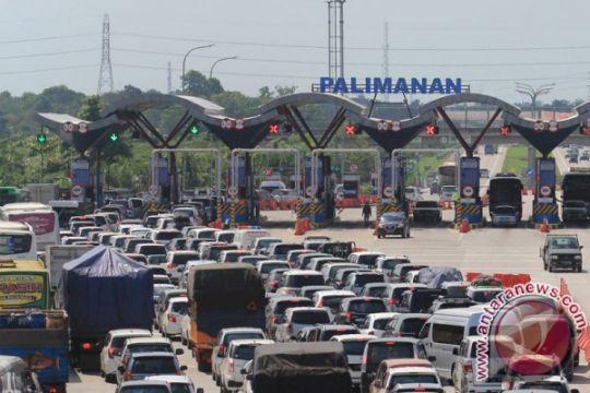 22.507 kendaraan arah Jakarta lintasi gerbang Palimanan