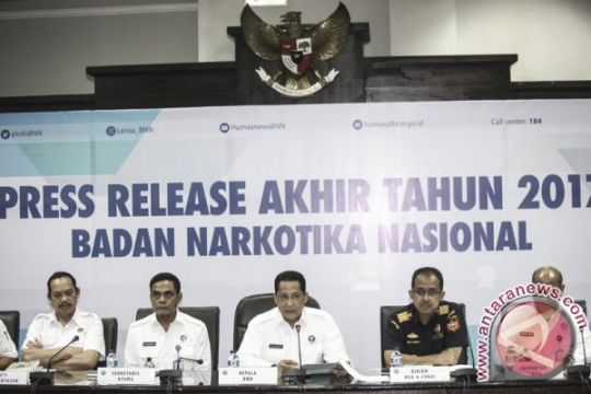 BNN rehabilitasi 1.523 pengguna narkoba pada 2017