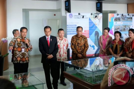 Presiden resmikan terminal Bandara Internasional Supadio