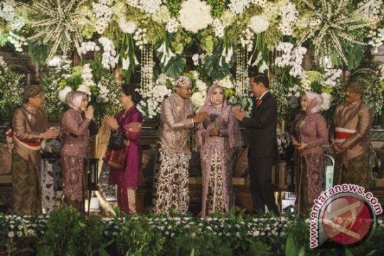 Presiden hadiri resepsi pernikahan putri Mensesneg di Yogyakarta
