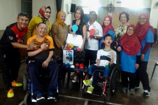 Mengenal Boccia olahraga kaum cerebral palsy