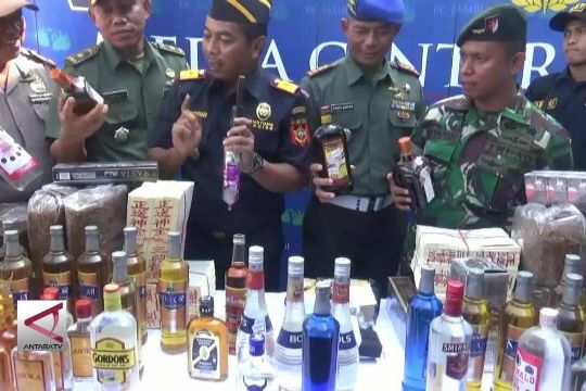 KPPBC Jambi Musnahkan Barang Ilegal Senilai Rp 1 Miliar
