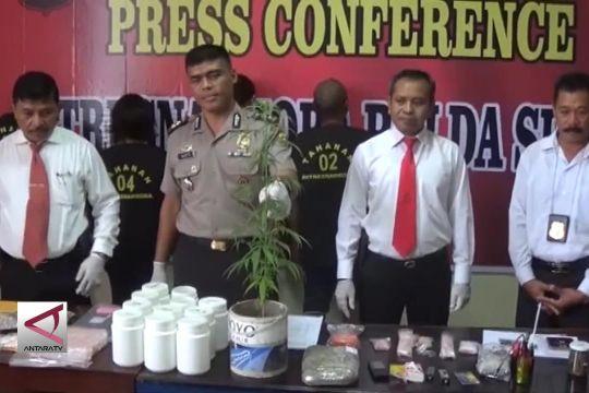 Tangani 165 Kasus, Penyalahgunaan Narkoba di Sultra Meningkat