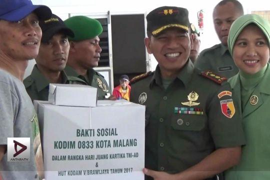 Bakti Sosial  TNI Memaknai Hari Juang