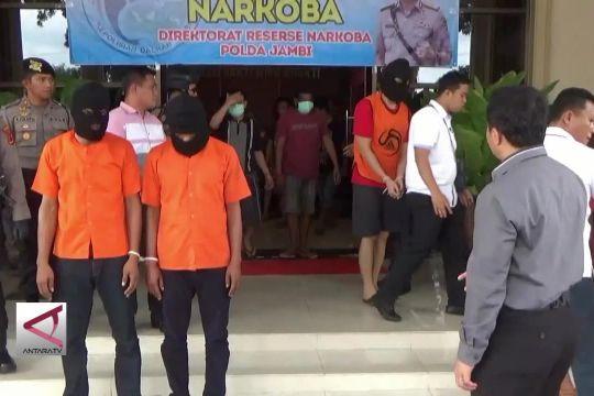 Dua Pekan Polda Jambi Amankan Narkoba Senilai Rp 40 M