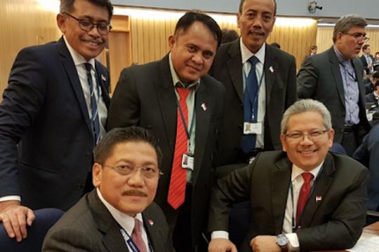 Indonesia duduki kursi anggota Dewan IMO 2018--2019