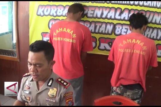 Polisi Tahan Dua Tersangka Pengedar Pil PCC