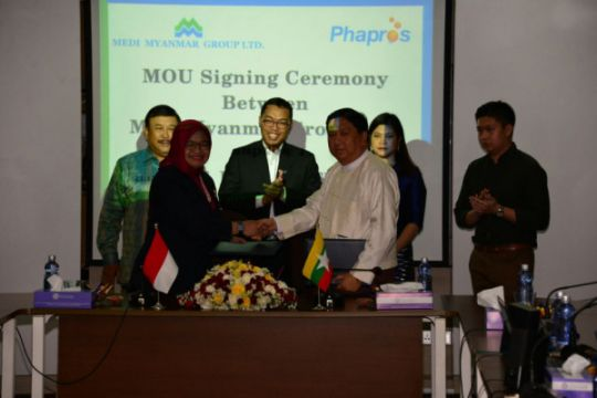Gandeng perusahaan farmasi Myanmar, Phapros buka pasar baru di ASEAN