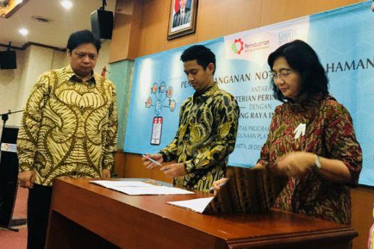 Kementerian Perindustrian gandeng Ruangguru genjot kapasitas SDM