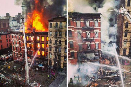 Enam, termasuk empat anak kecil, tewas dalam kebakaran di New Yokr