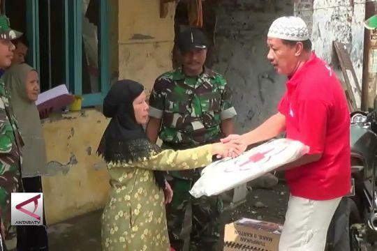 Korban Gempa Mendapat Bantuan