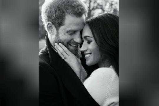 Cerita sesi pemotretan foto pertunangan Pangeran Harry dan Meghan